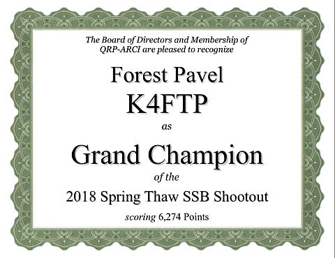 SSB Shootout Champion