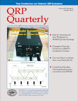 QRP Quarterly - October 2015