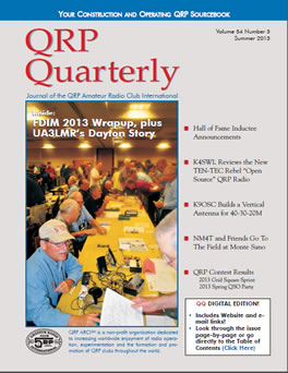 QRP Quarterly - Summer 2013